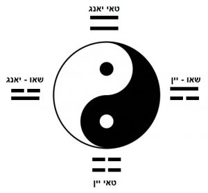 סמל טאי צ'י - Tai Ji Symbol - טאי יאנג; שאו יאנג; שאו יין; טאי יין