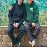 אמיר פרלמן מייסד מדיקל צ׳י קונג ישראל עם מאסטר יאנג במירנדה קליפורניה